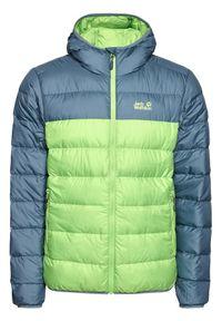 Zielona kurtka przejściowa Jack Wolfskin
