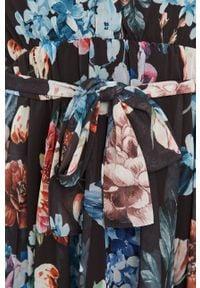 Niebieska sukienka Answear Lab rozkloszowana, w kwiaty #6