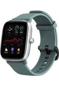 AMAZFIT - Smartwatch Amazfit GTS 2 Mini Zielony (ZEG-SMW-0083). Rodzaj zegarka: smartwatch. Kolor: zielony