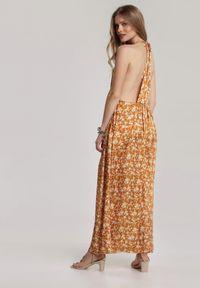 Renee - Żółta Sukienka Thelmellia. Kolor: żółty