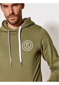 Rage Age Bluza Hoodie 1 Zielony Slim Fit. Kolor: zielony