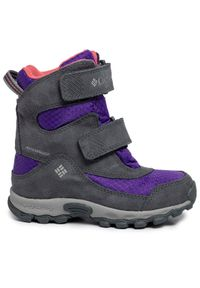 columbia - Columbia Śniegowce Childrens Parkers Peak Boot YC5409 Fioletowy. Kolor: fioletowy