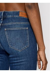 Wrangler Jeansy Skinny Fit Body Bespoke W28KX785U Granatowy Skinny Fit. Kolor: niebieski