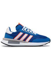 Niebieskie buty sportowe Adidas z cholewką, na co dzień #7