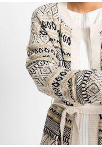 Beżowy sweter bonprix