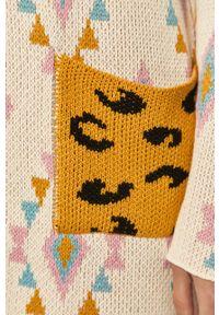 Wielokolorowy sweter rozpinany Femi Stories na co dzień, casualowy