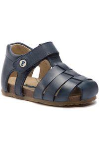 Niebieskie sandały Naturino na lato