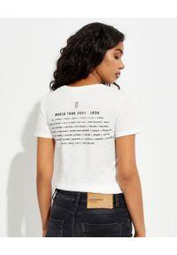 ONETEASPOON - Biały t-shirt Lips of Sugar. Kolor: biały. Materiał: bawełna. Wzór: napisy, nadruk #4