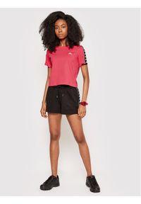 Kappa T-Shirt Inula 309090 Różowy Regular Fit. Kolor: różowy