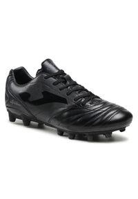 Joma - Buty JOMA - Aguila Gol 821 AGOLS.821.FG Black Firm Ground. Kolor: czarny. Materiał: skóra ekologiczna. Szerokość cholewki: normalna
