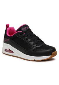 skechers - Sneakersy SKECHERS - Inside Matters 155005/BLK Black. Okazja: na co dzień, na spacer. Kolor: czarny. Materiał: skóra ekologiczna, materiał, skóra. Szerokość cholewki: normalna. Sezon: lato. Styl: casual