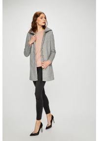 Szary płaszcz Vero Moda na co dzień, gładki, casualowy