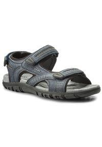 Niebieskie sandały Geox na co dzień, casualowe