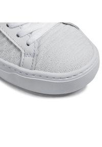 Lacoste - Sneakersy LACOSTE - La Piquee 0721 1 Cfa 7-41CFA00051Y9 Wht/Lt Pnk. Okazja: na co dzień. Kolor: biały. Materiał: materiał. Szerokość cholewki: normalna. Sezon: lato. Obcas: na płaskiej podeszwie. Styl: casual