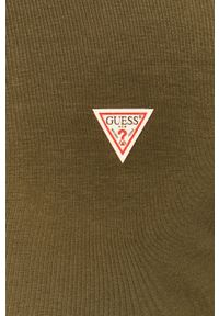 Koszulka z długim rękawem Guess Jeans z okrągłym kołnierzem