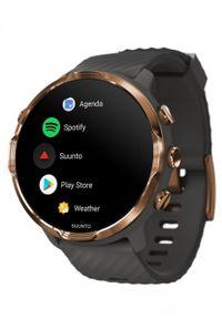 Szary zegarek SUUNTO cyfrowy, sportowy