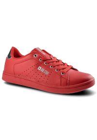 Big-Star - Sneakersy BIG STAR DD274585 Czerwony. Okazja: na co dzień. Zapięcie: sznurówki. Kolor: czerwony. Materiał: jeans, skóra ekologiczna, materiał. Szerokość cholewki: normalna. Styl: sportowy, klasyczny, casual