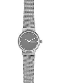 Skagen - Zegarek SKW2667. Kolor: srebrny. Materiał: materiał