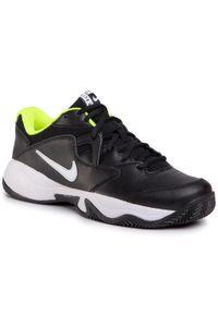 Czarne buty sportowe Nike Nike Court, na co dzień