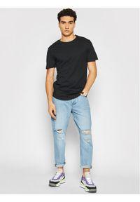 Only & Sons Komplet 3 t-shirtów Matt 22013782 Czarny Regular Fit. Kolor: czarny