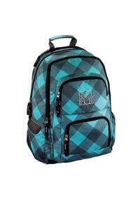 hama - Hama Plecak szkolny Louth 26L Blue Dream Check (001292200000)
