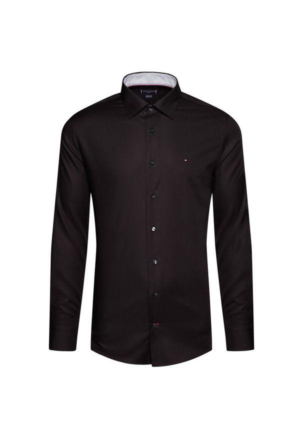 Czarna koszula casual Tommy Hilfiger Tailored