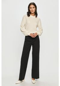 Samsoe & Samsoe - Samsoe Samsoe - Sweter. Okazja: na co dzień. Kolor: beżowy. Długość rękawa: długi rękaw. Długość: długie. Styl: casual #6