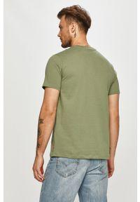 Zielony t-shirt Levi's® z nadrukiem, na co dzień
