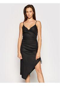 Czarna sukienka letnia NA-KD