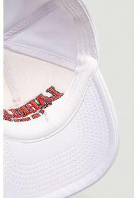 Biała czapka z daszkiem LABELLAMAFIA z nadrukiem