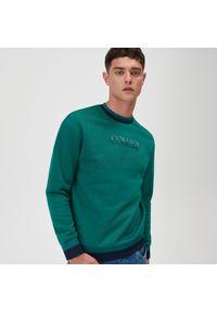 Sinsay - Bluza w stylu college - Szary. Kolor: szary