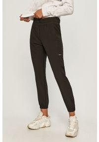 Czarne spodnie dresowe DKNY