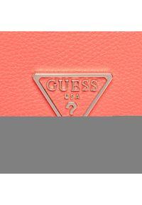 Guess - Torebka GUESS - Destiny (VG) HWVG78 78200 COR. Kolor: pomarańczowy. Materiał: skórzane