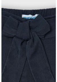 Niebieskie spodnie Mayoral gładkie