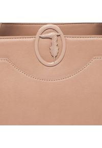 Brązowa torebka klasyczna Trussardi Jeans