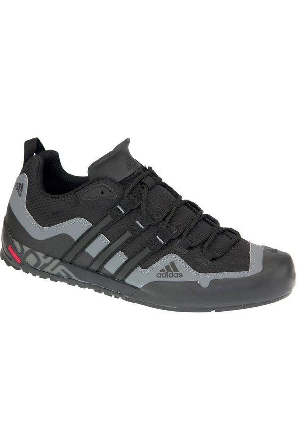 Czarne buty sportowe Adidas z cholewką, Adidas Terrex