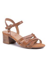 Brązowe sandały Nessi