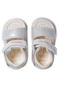 Geox Sandały B S. Nicely A B1538A 010AJ C0007 Biały. Kolor: biały