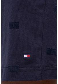 TOMMY HILFIGER - Tommy Hilfiger - Szorty piżamowe. Kolor: niebieski. Materiał: bawełna, dzianina. Wzór: nadruk
