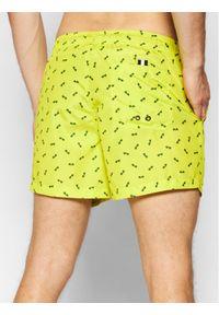 North Sails Szorty kąpielowe Volley Allover 673476 Żółty Regular Fit. Kolor: żółty #4