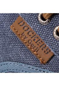 Niebieskie półbuty Dockers z cholewką #7