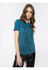 Niebieski t-shirt Patrizia Pepe