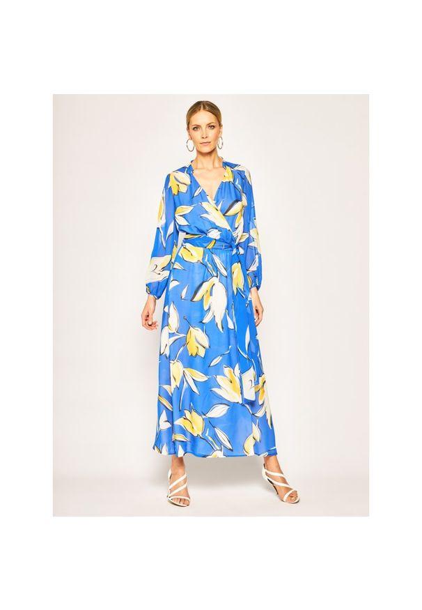 Niebieska sukienka Luisa Spagnoli na lato