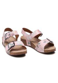 Różowe sandały Josef Seibel