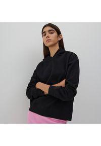 Reserved - Bluza z bawełny organicznej - Czarny. Kolor: czarny. Materiał: bawełna