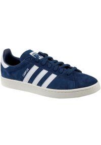 Niebieskie sneakersy Adidas z cholewką, Adidas Campus