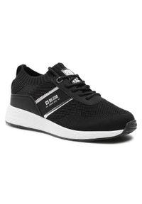 Big-Star - Sneakersy BIG STAR - HH274347 Black. Okazja: na co dzień. Kolor: czarny. Materiał: materiał. Szerokość cholewki: normalna. Sezon: lato. Obcas: na płaskiej podeszwie. Styl: casual