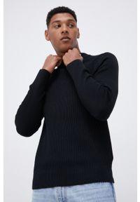 Premium by Jack&Jones - Sweter. Okazja: na co dzień. Kolor: czarny. Materiał: bawełna, poliester. Długość rękawa: raglanowy rękaw. Styl: casual