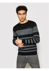 Guess Sweter M1YR61 Z2UZ0 Czarny Regular Fit. Kolor: czarny