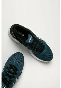Sneakersy Asics na sznurówki, z cholewką, z okrągłym noskiem